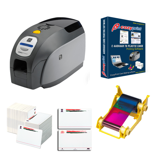 zebra zxp 3 kit - Plastic Card Printing Machine